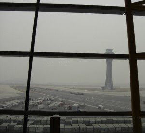 Beijing Airport Pollution Jan 2012
