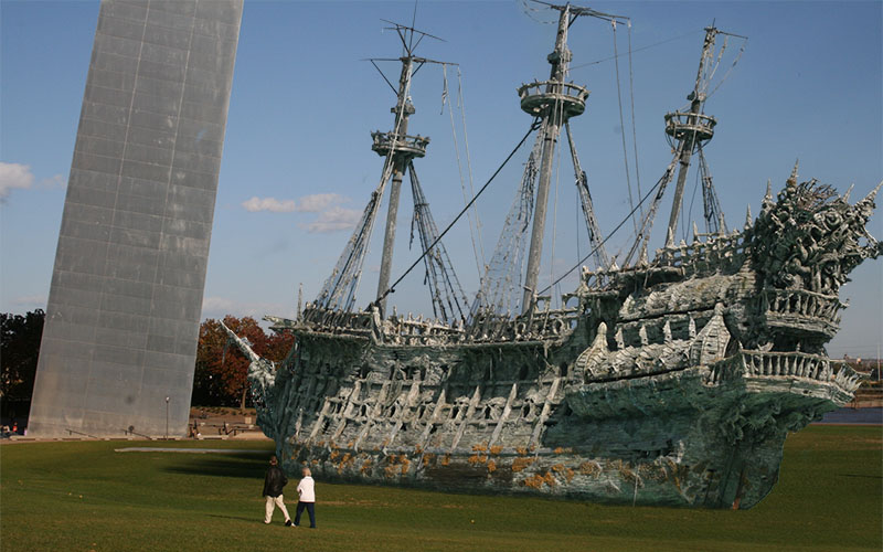 300 year old pirate ship st louis courtesy of rock city times