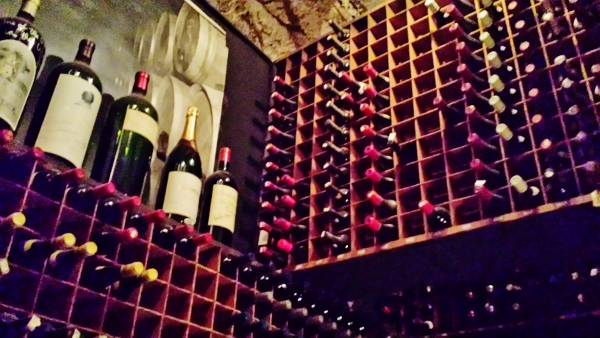 Bern's Steakhouse Tampa Florida wine cellar