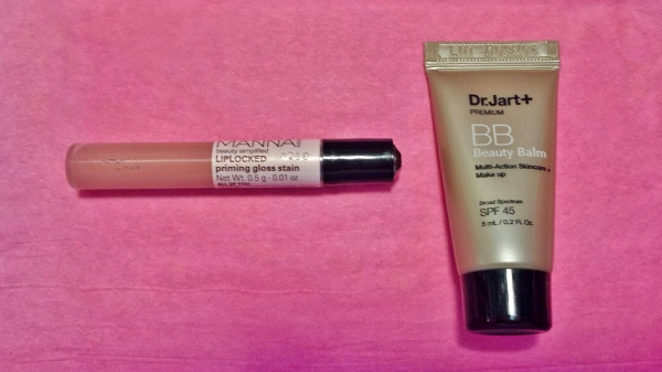 January 2015 Birchbox Manna Kadar Liplocked Dr Jart+ premium beauty balm
