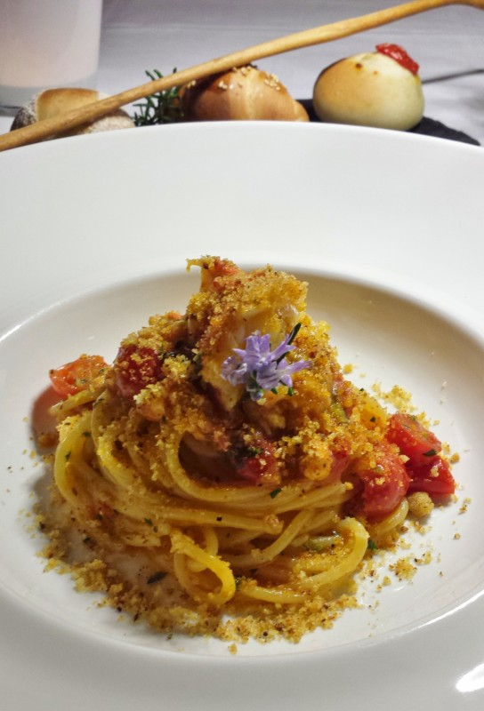 Zash Country Boutique Hotel Restaurant Tasting Menu Spaghetti