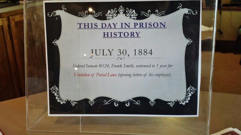 Wyoming Territorial Prison Day in Prison History