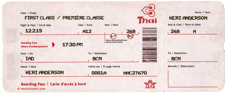 Giving Someone a Trip? Check out These Fake Plane Ticket Templates