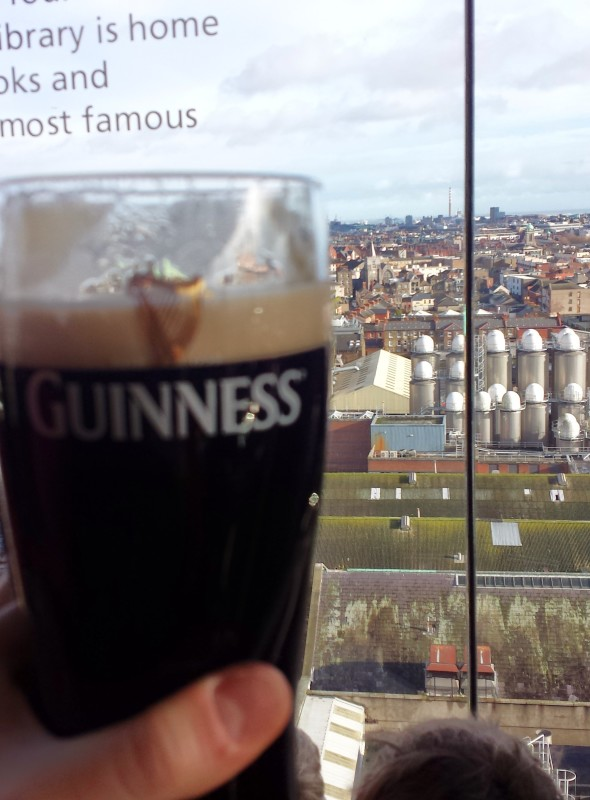 Guinness Experience Dublin perfect pint
