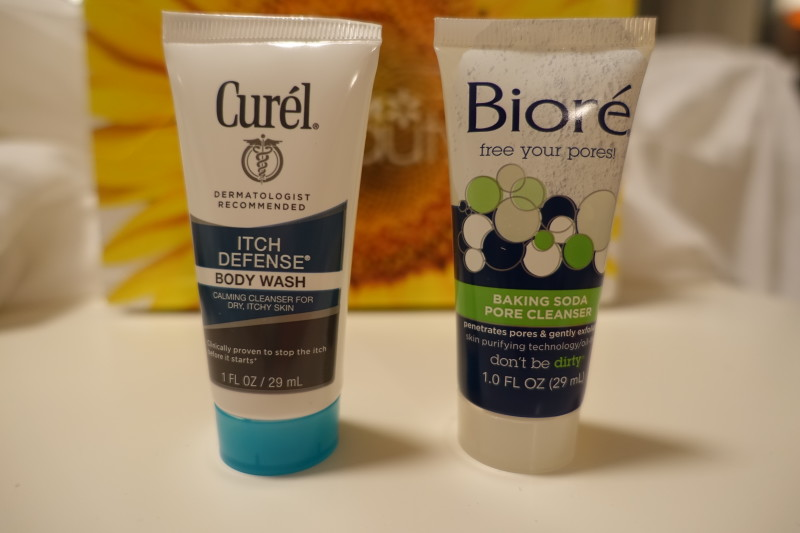 walmart beauty box spring 2016 biore cural