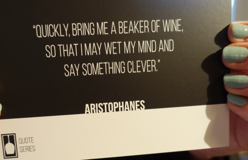Vinebox Review Aristophanes