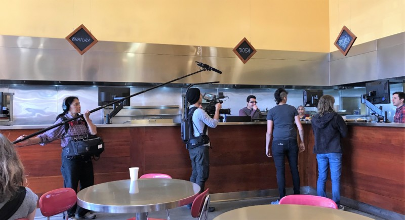 Vik's Chaat Berkeley Indian Food Film Crew