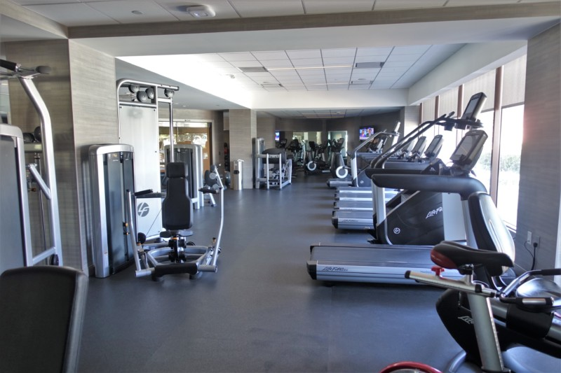 hyatt regency san francisco airport new gym