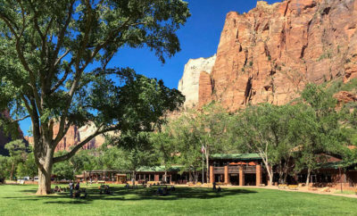 Zion park lodge photo