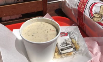 Spud Point Crab Company Bodega Bay clam chowder