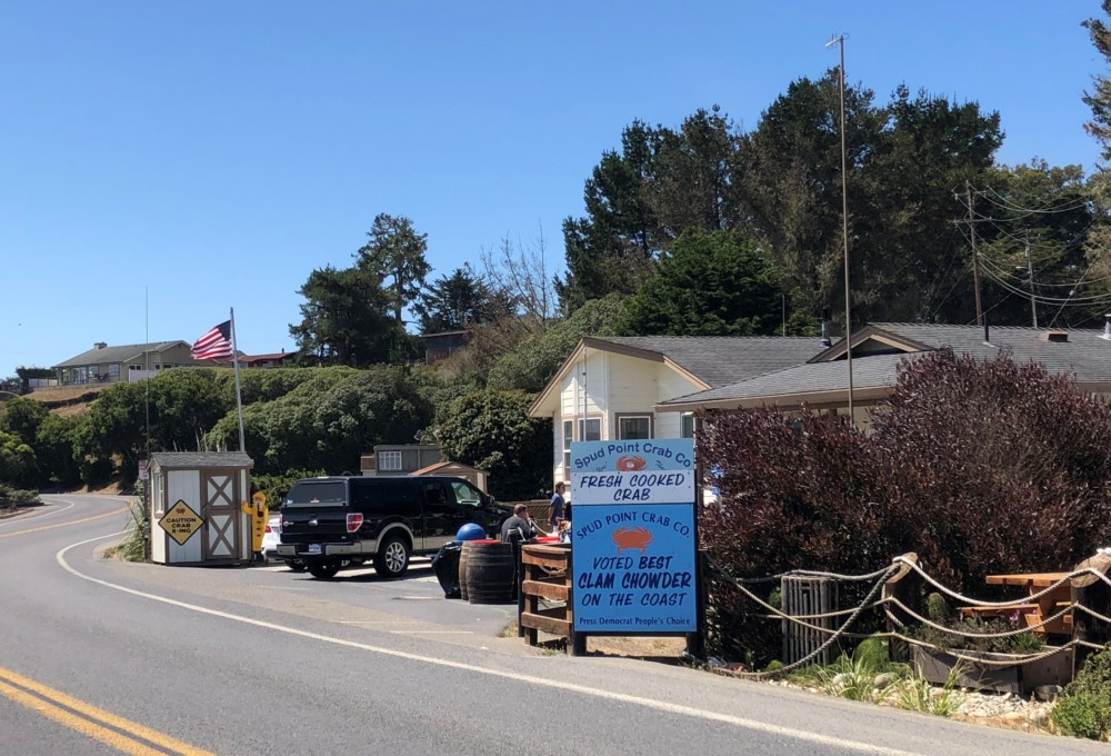 Spud Point Crab Company Bodega Bay exterior
